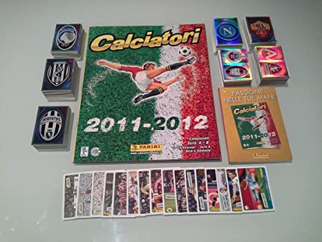 Verzamelkaarten, ruilkaarten Album Calciatori 2011 2012 set completo+aggiornamenti+film campionato Verzamelkaarten: sport