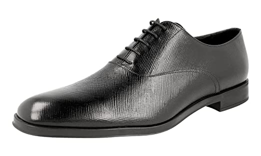 Men's 2EC090 Brushed Spazzolato Leather Business Shoes