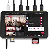 YoloLiv YoloBox Portable Multi-Camera Live Streaming Studio Device Encoder Switcher Recorder Monitor 4 in 1 Equipment