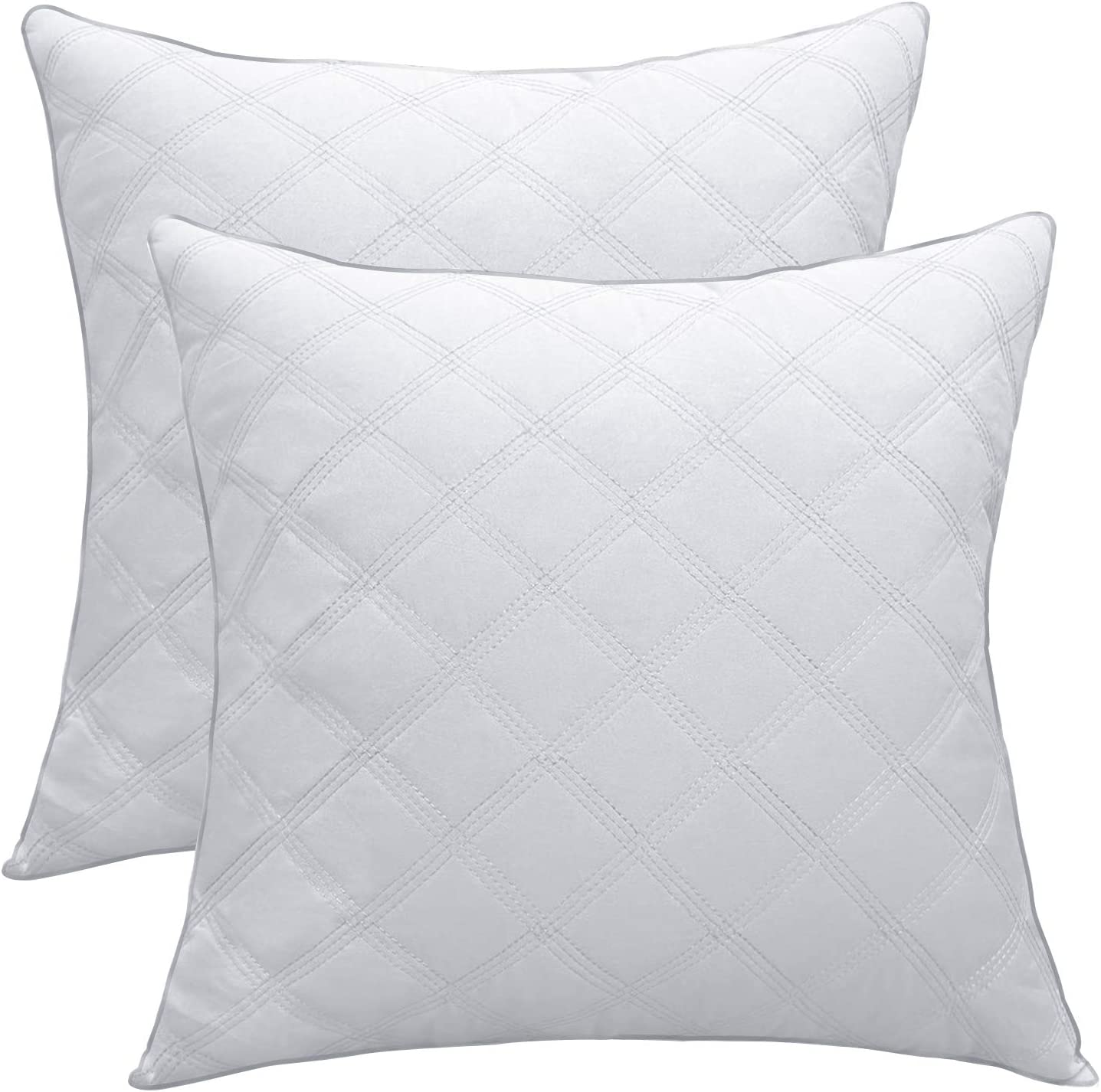 New product Lipo 20x20 Pillow Inserts Quilted- Set Filling OFFicial shop 2 Up 680GR of to