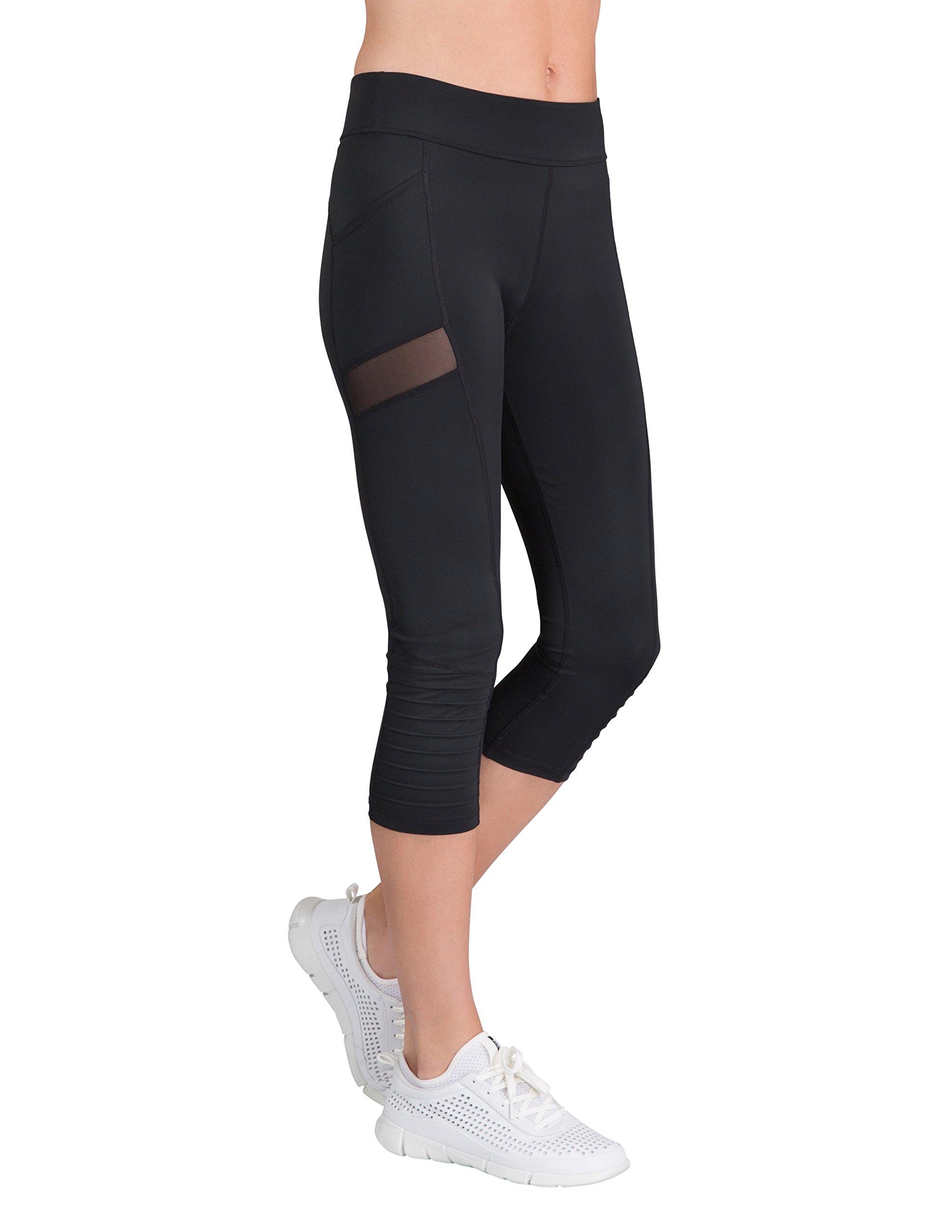 Tail Activewear Women's Sue Capri Leggings Medium Black