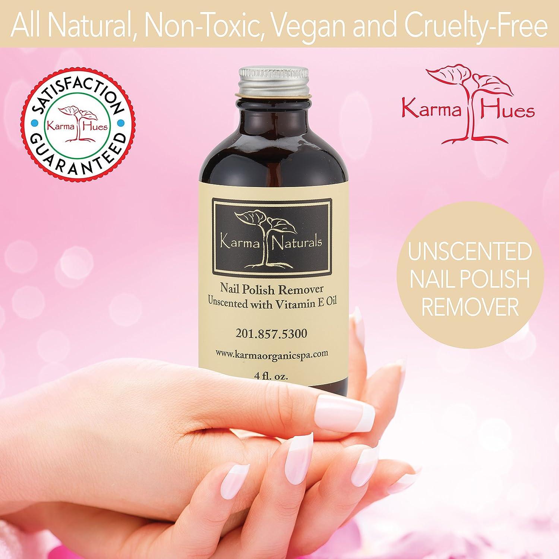 Organic Nail Polish Remover Unscented - 4 fl. oz.: Amazon.co.uk: Beauty