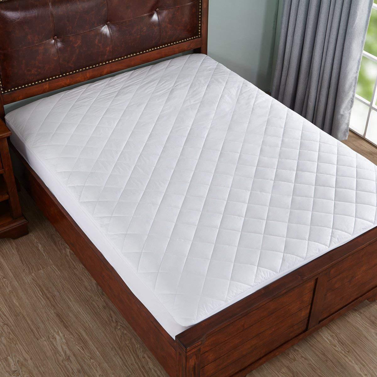 Amazon Com Home Elements Waterproof Cotton Mattress Pad King Size