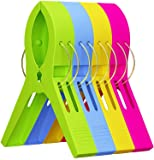 Attmu Beach Towel Clips (12 Pack), Towel Holder