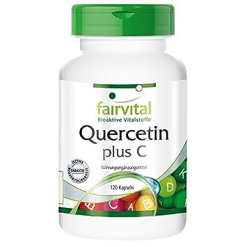 Quercetina 500mg - Bote para 3 meses - VEGANO - Alta dosificación - 90 cápsulas - antioxidante: Amazon.es: Salud y cuidado personal