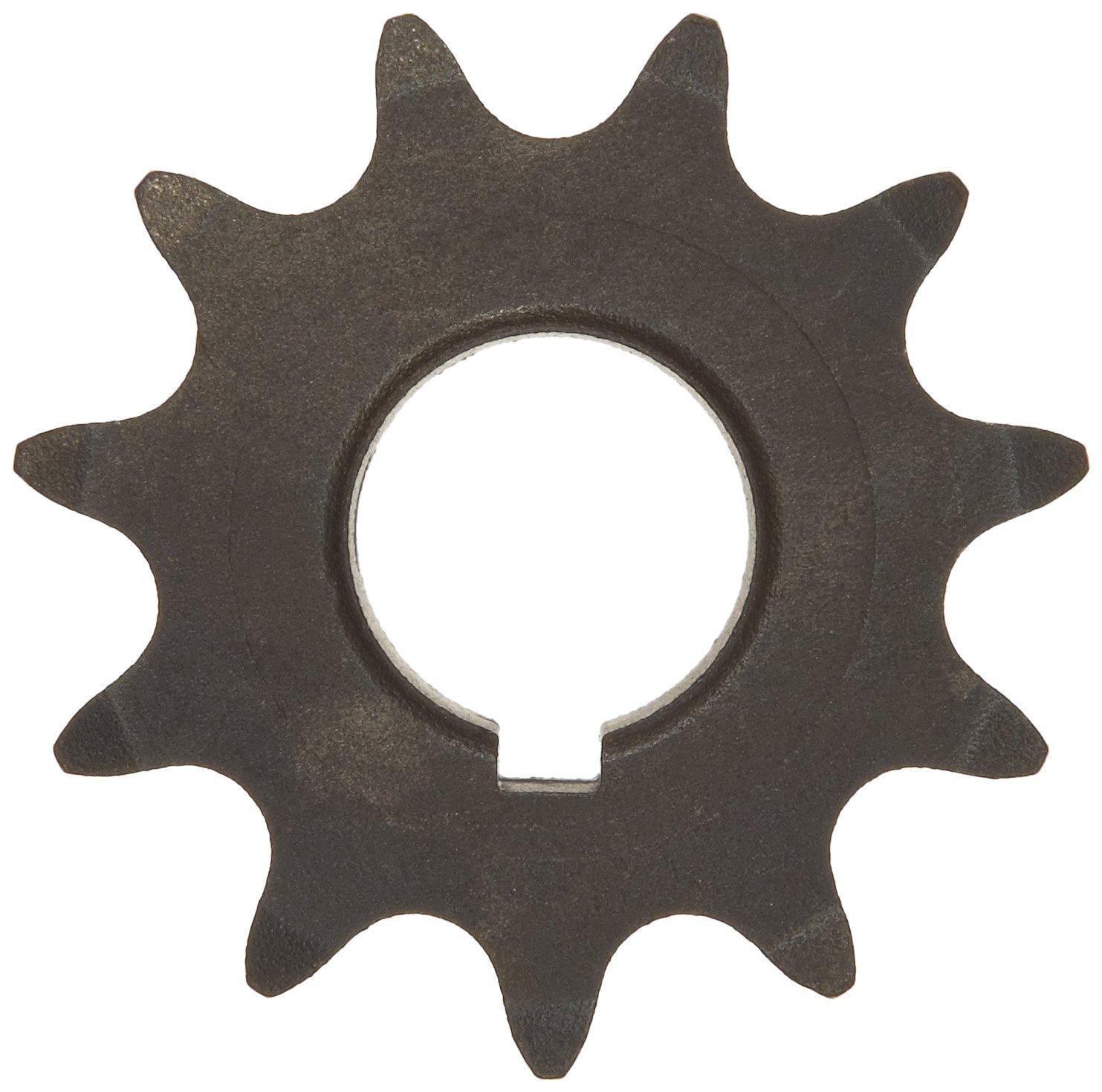 40 Chain Size Single Strand 0.875 Bore Dia. 2.166 OD 0.284 Width Bored-to-Size Type B Hub 1.5625 Hub Dia. 0.5 Pitch 12 Teeth Martin Roller Chain Sprocket