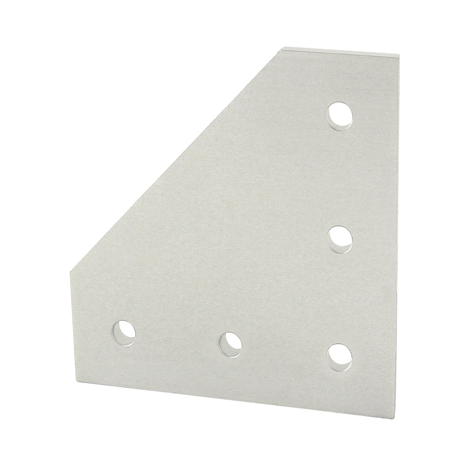 80/20 Inc., 4351, 15 Series, 5-Hole 90 Degree Joining Plate by 80/20 Inc