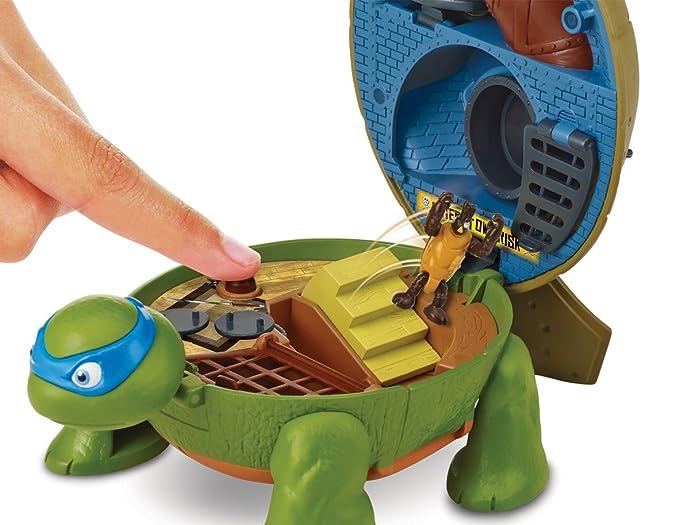 Amazon.com: Micro de las Tortugas Mutantes Leo s Dojo ...