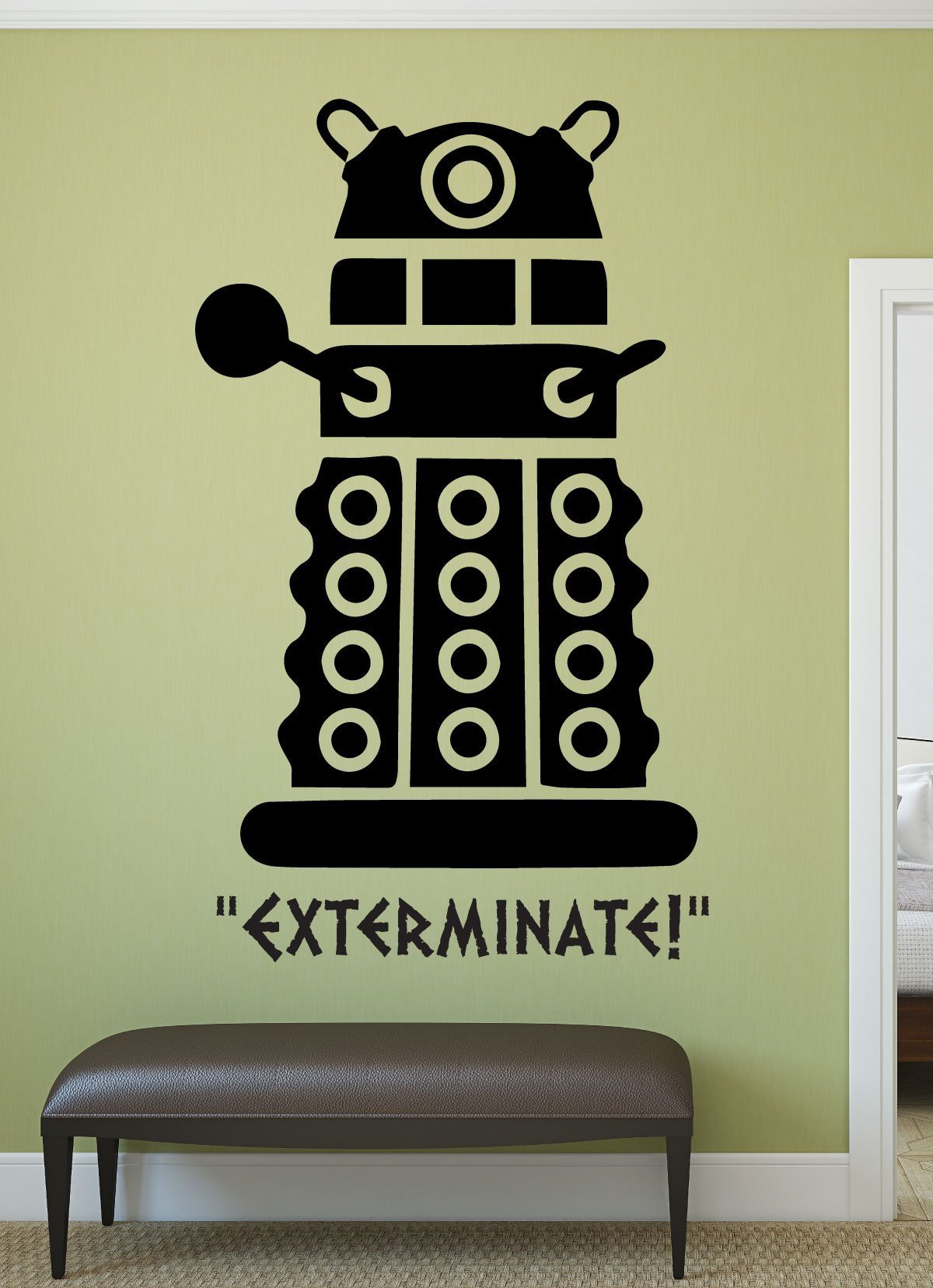 Doctor Who Decal - Dalek - Whovian Gifts, Doctor Who Wall Art, Vinyl ...