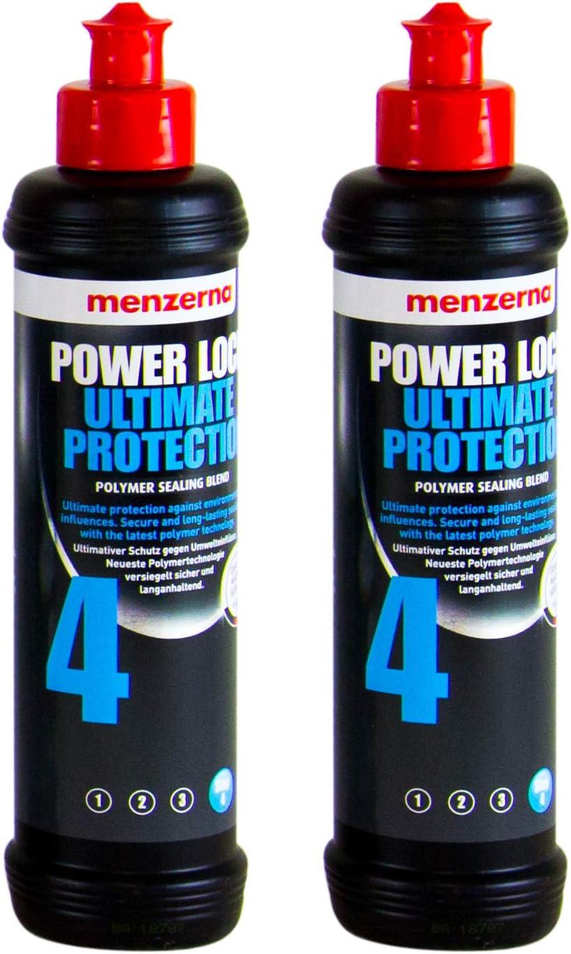 Menzerna 2x Power Lock Ultimate Protection 4 Lackversiegelung Versiegelung 250ml Auto