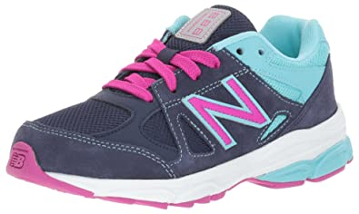 58fec84f88b8 ... authentic new balance girls kj888 blue purpl 10 extra wide us infant  19c25 26629