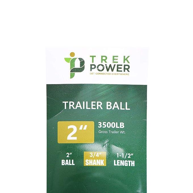 2/×3//4/×1-1//2 600RV001 1-7//8 Chrome Hitch Ball Enjoy Riding Place