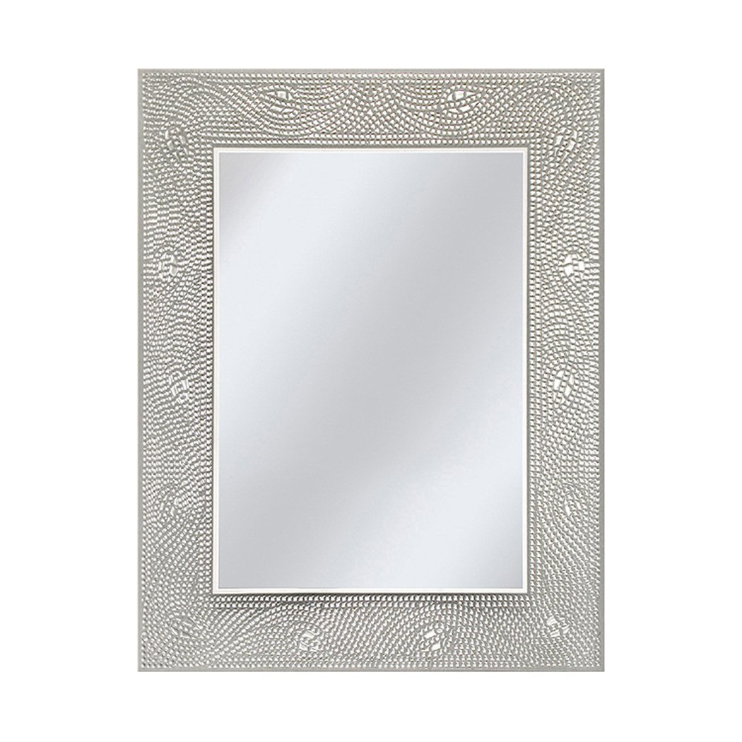 Head West Crystal Mosaic Rectangle Mirror, 23-1 2 by 29-1 2-Inch