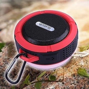 ZOUJUN Altavoz Bluetooth - Altavoz portátil, Impermeable 8 ...