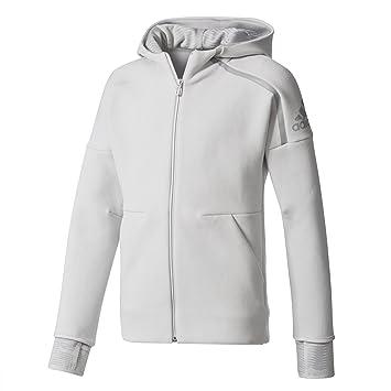 new products 19e9e 2b7ad adidas Girls Yg Zne 2 Puls H Sweatshirt, GreyGridosGrpumg,