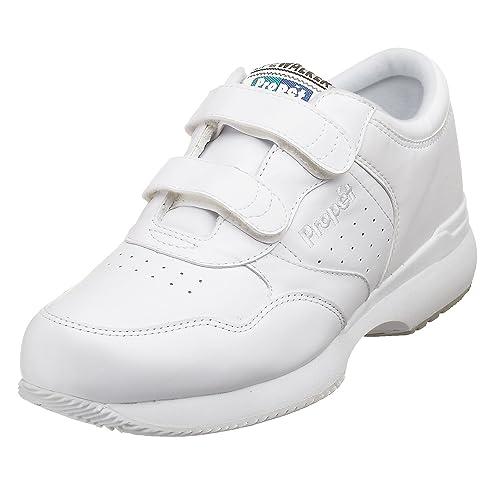 Propet Men's Life Walker Strap Sneaker,White,7 M (US Men's ...