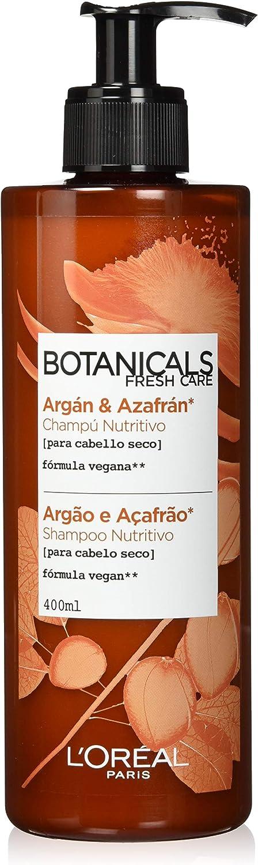 L'Oreal Paris Botanicals Champú Infusión de Nutrición, para cabellos secos - 400 ml