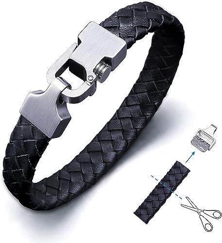 achat fermoir pour bracelet cuir