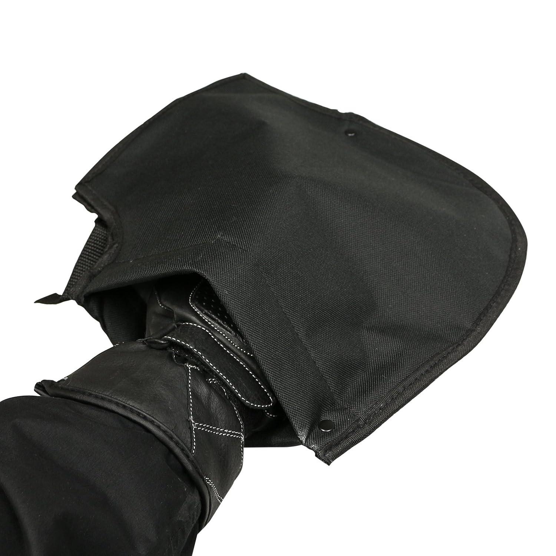 Ryde Guanti//muffole per manubrio moto imbottite in lana
