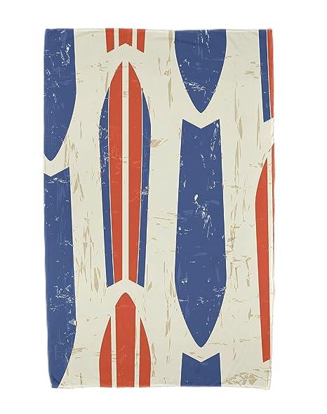 E por diseño Surf toalla de playa de arena y mar Dean