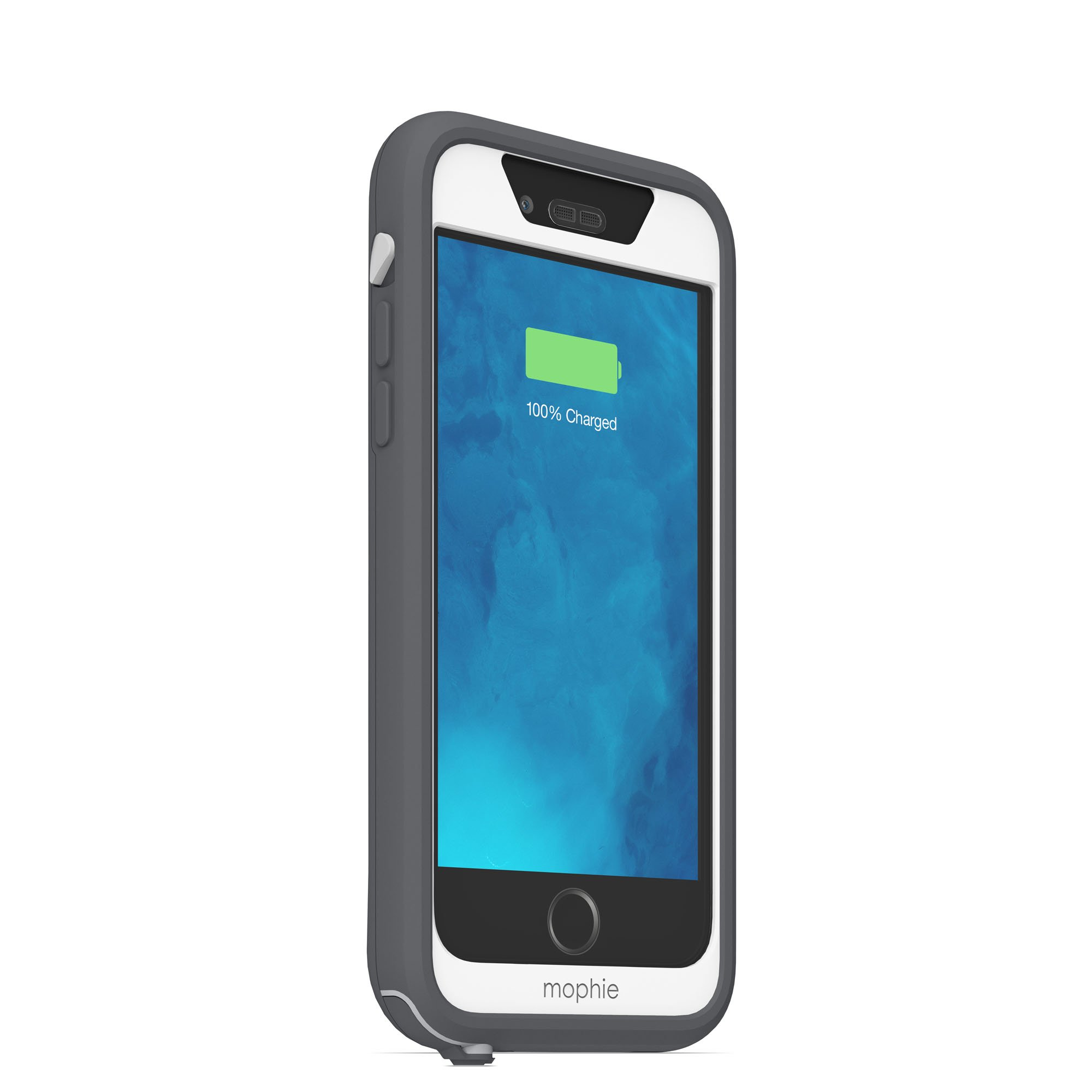 mophie juice pack H2PRO - Waterproof Mobile Protective Battery Pack Case for iPhone 6/6s - White by mophie (Image #6)