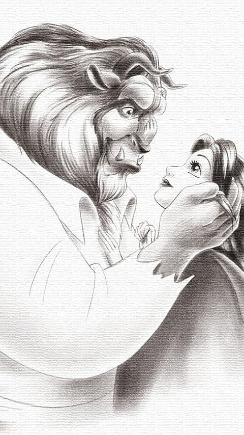 ディズニー 美女と野獣 XFVGA(480×854)壁紙画像