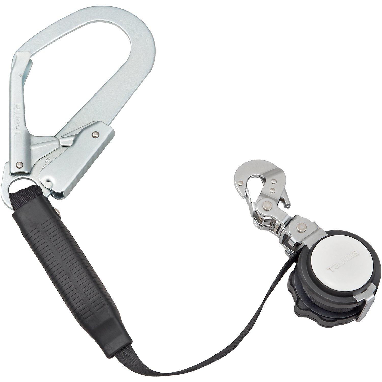 タジマ 安全帯 一本吊り専用 VR150FL6 ハーネス用ランヤード VR150FL6 [落下防止 電気工事 高所での安全作業] B0143VDCME 焼入アルミフック