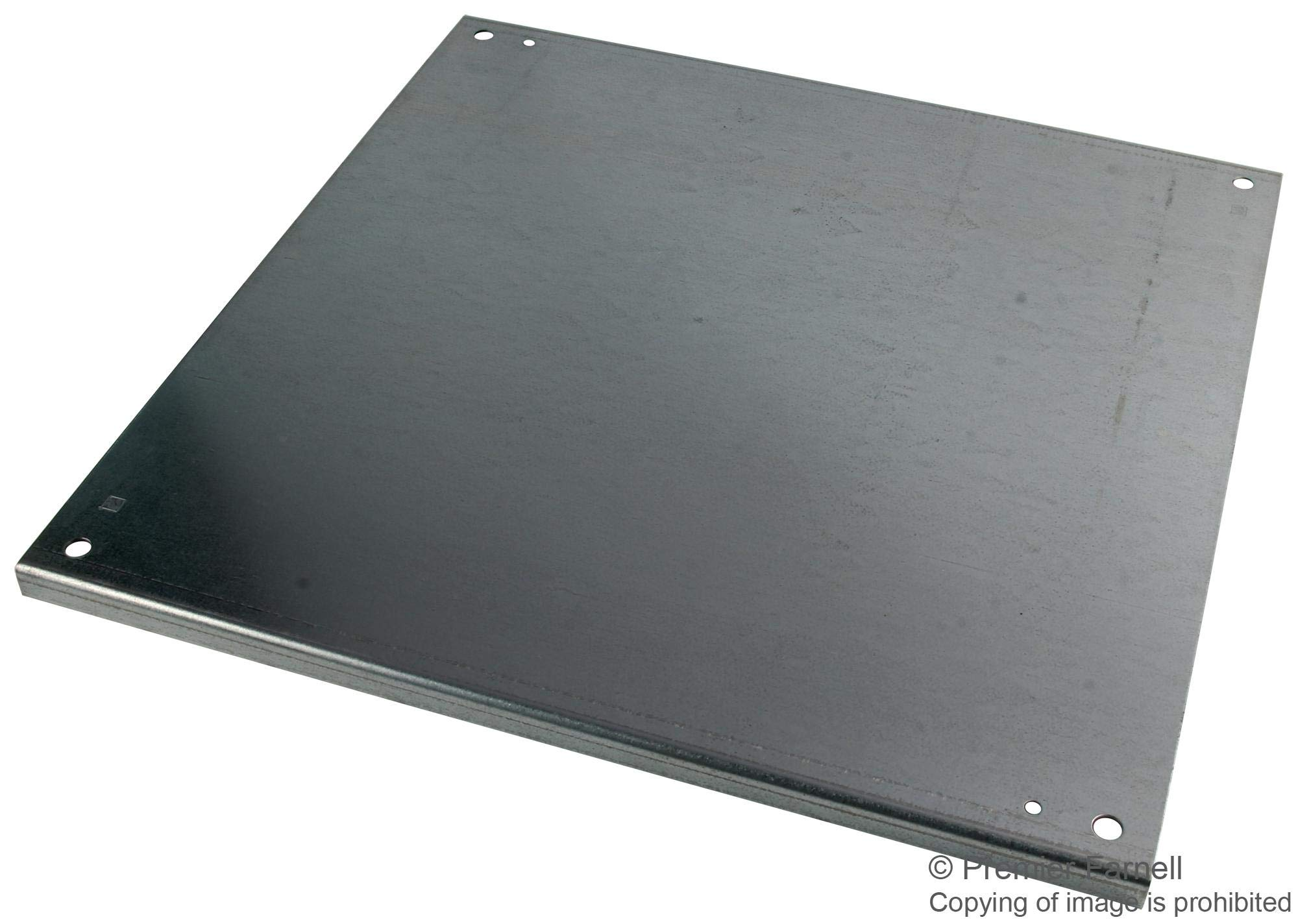A-24P24G - Panel, Conductive, Steel, 533mm x 533mm, White (A-24P24G)