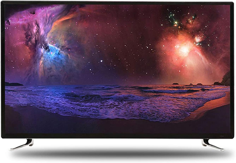 YILANJUN 32/42/46/55/60 Pulgadas UHD TV - Smart TV 4K - Televisor HD Pantalla HDR de Alta Dinámica [WiFi + Protección Ocular + Voz + Proyección Inalámbrica + Pantalla Prueba de Explosione