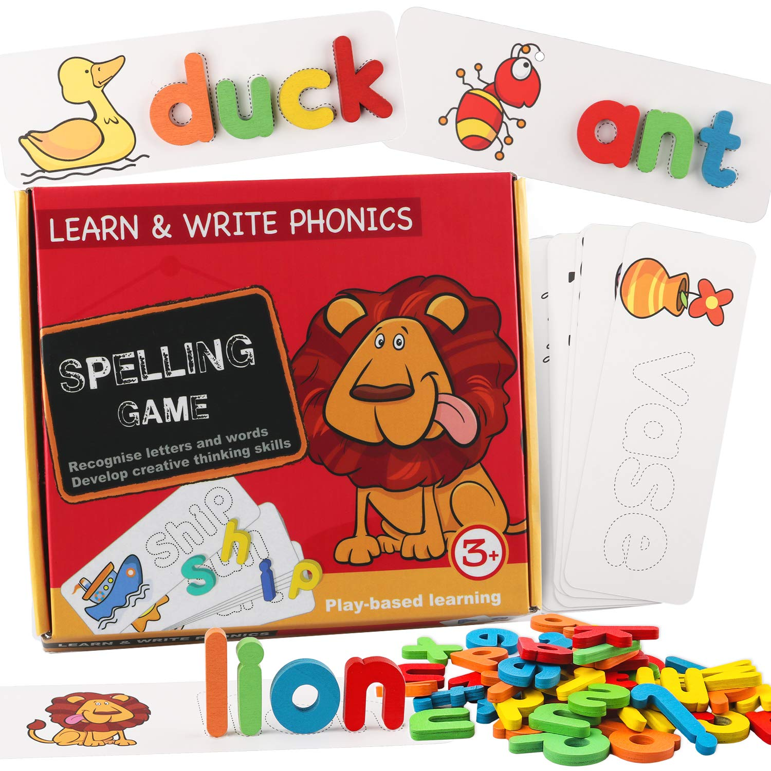EHO Preschool Educational Toys for 3 Year Old Girls and Boys,Kids Toys
