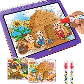 TUMAMA Malbücher Weiche Spielzeug für Kinder,Malen und