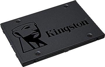 "Kingston SA400S37/480G Unidad de Estado Sólido 480 GB, 2.5"""