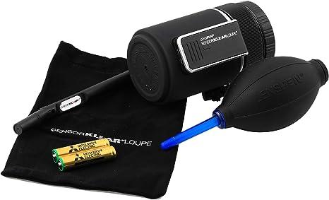 Lenspen NSKLK-1 , Kit de limpieza de sensores para cámaras DSLR ...
