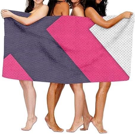 Queen Elena - Toalla de baño de algodón, Color Rosa, Blanco ...