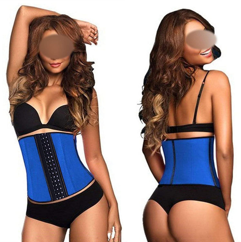 bluee I NeedYou Waist Trainer Corset 9 Steel Bone Shapewear Body Shapers Women Corset Slimming Belt Waist Shaper