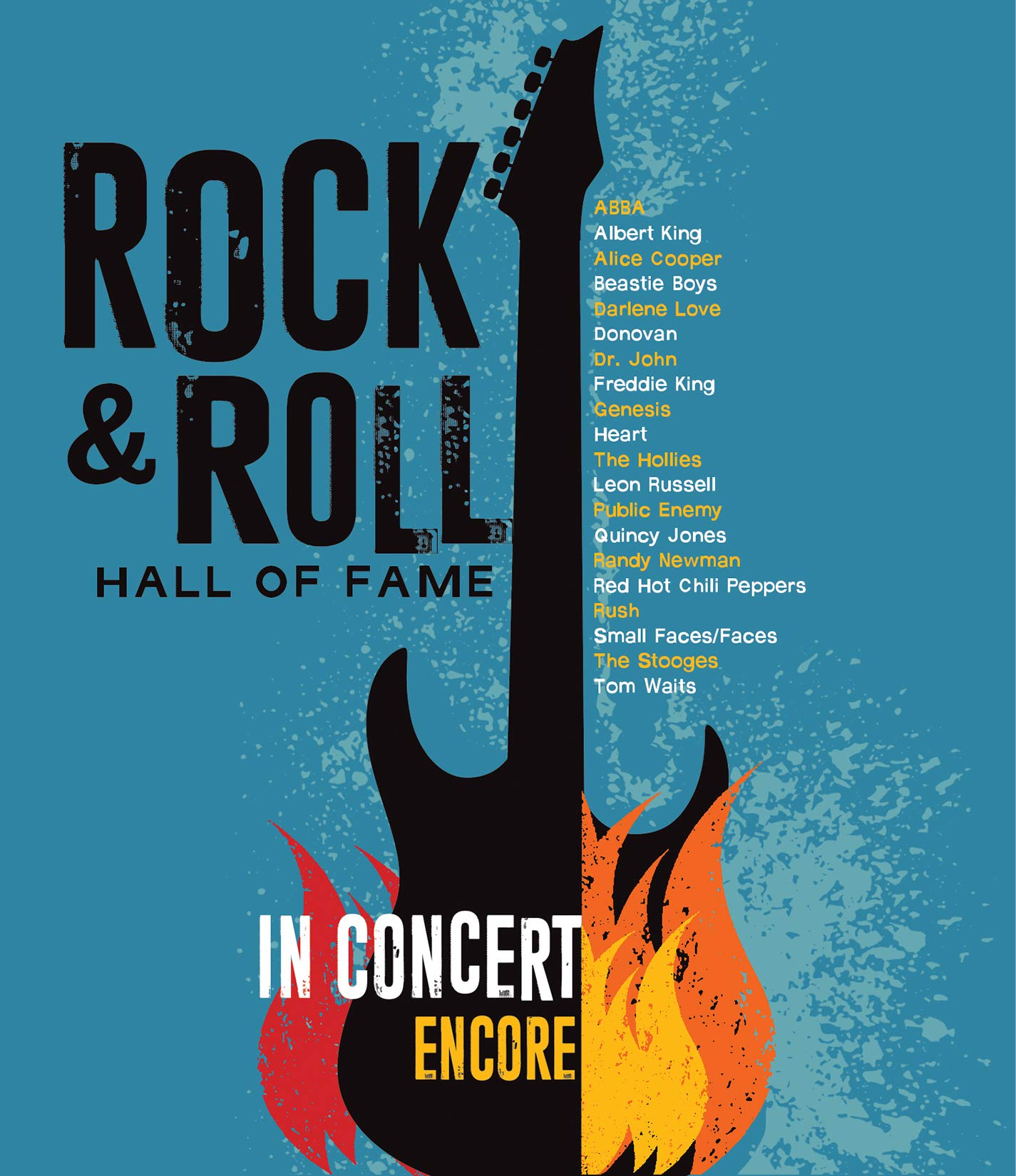 Blu-ray : Rock & Roll Hall Of Fame: In Concert: Encore (2PC)