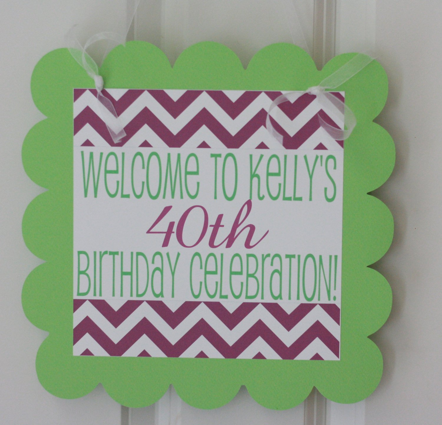 Banners Party Packages 12 40 Door Signs Available Tags 30 Purple /& Lime Green Martini Cocktail Over the Hill Chevron 21 50 60 Birthday Cupcake Toppers