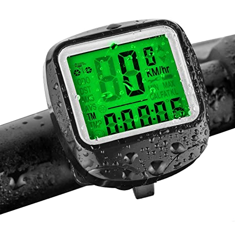 FINIBO - Cuentakilómetros para Bicicleta (inalámbrico, 23 ...