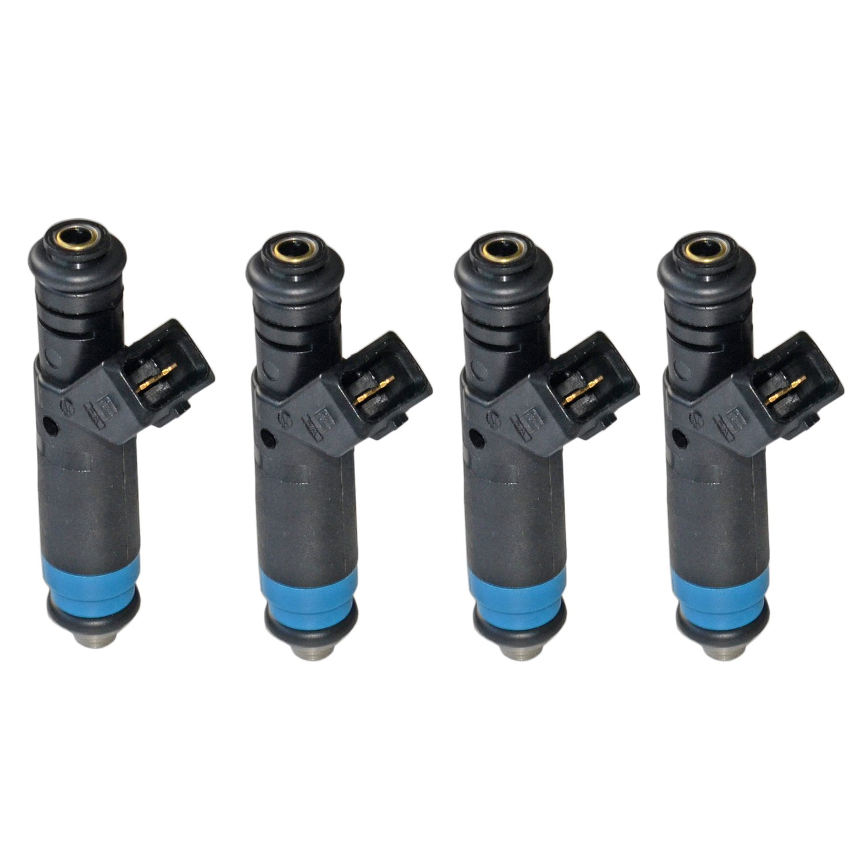 4pcs Fuel Injector For SIEMENS DEKA 110324 80lb EV1 High Impedance 875cc AKWH