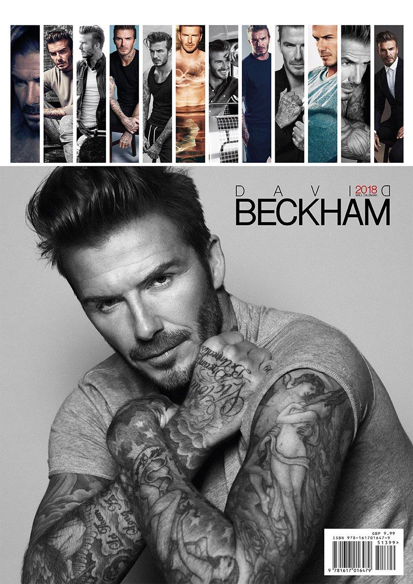 David Beckham 2018 Calendar Amazon David Beckham