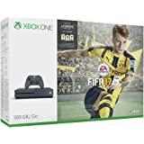Pack Console Xbox One S 500 Go gris + Fifa 17 - Storm Grey Exclusif Amazon