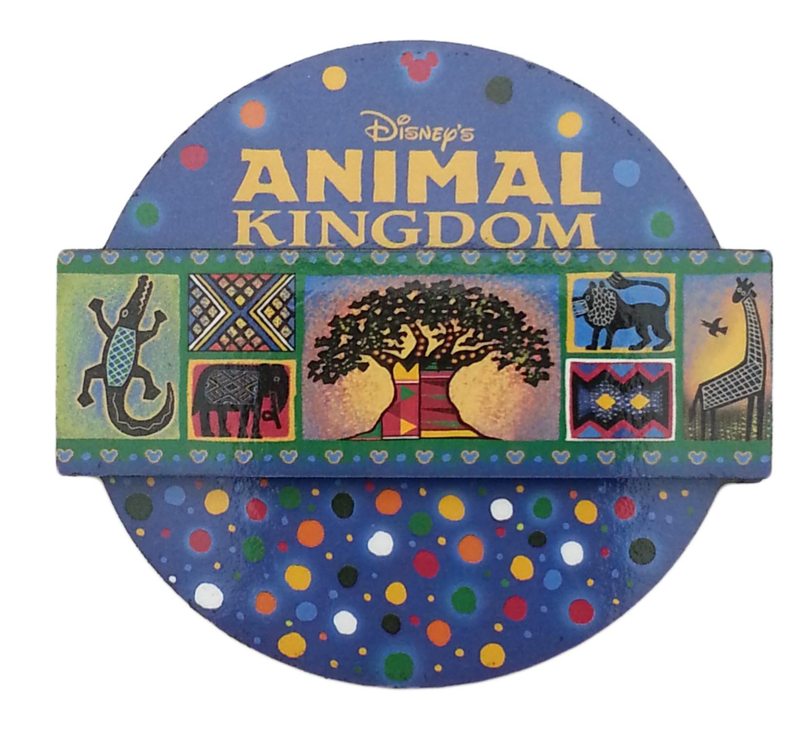 Disney Parks - Animal Kingdom Round Magnet