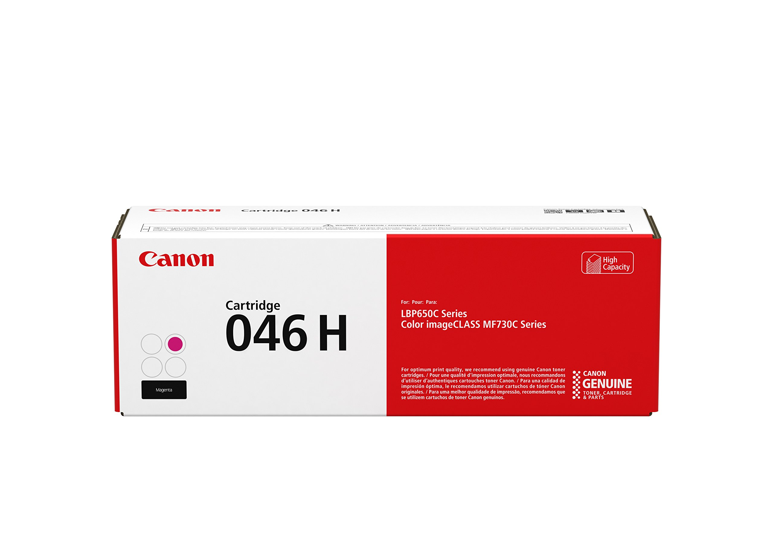 Canon Original 046 Toner Cartridge - High Yield Magenta