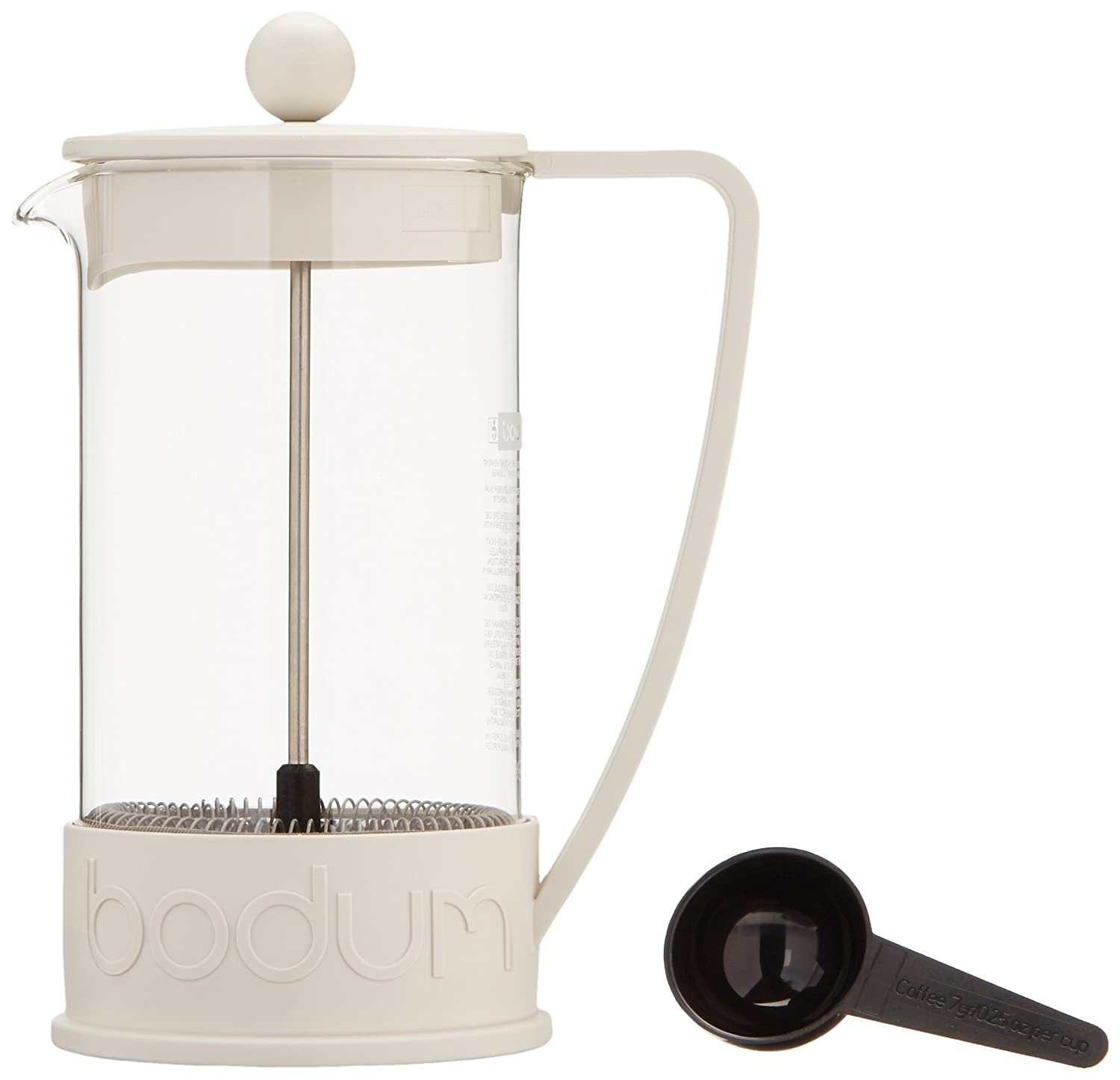 Bed bath beyond french press - Amazon Com Bodum Brazil French Press 1 Liter 8 Cup Coffee Maker 34 Ounce Black Kitchen Dining