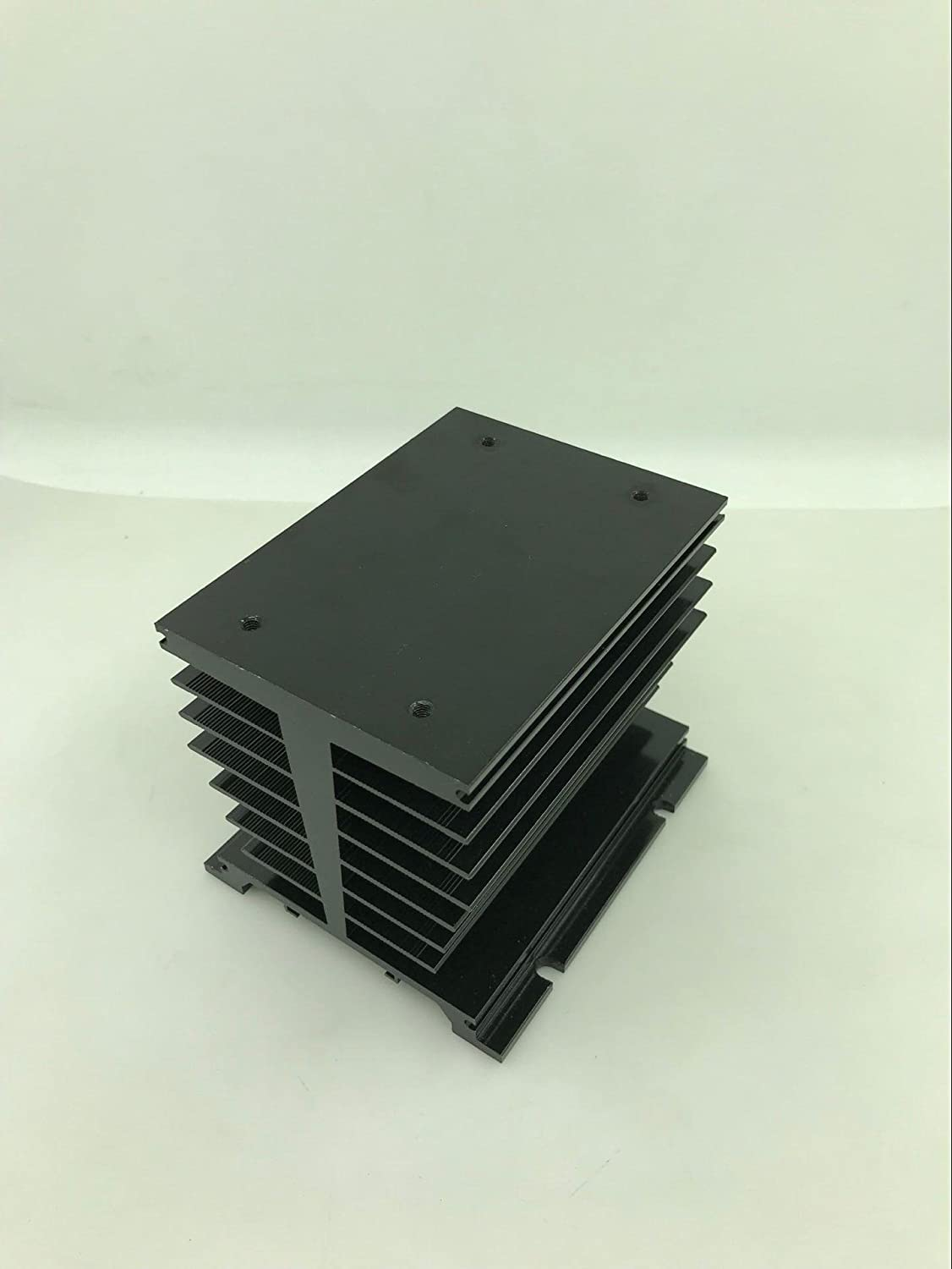 120A Twidec Three-phase solid state relay black aluminum heat sink SSR,for three-phase solid state relays 100A
