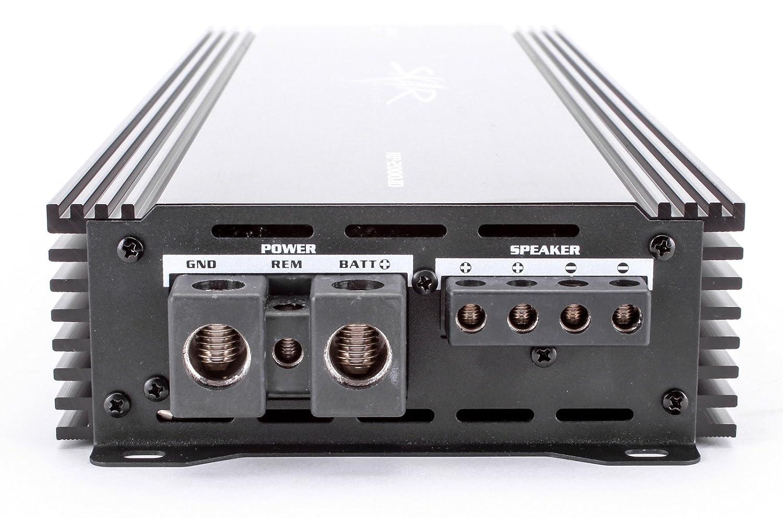 Amazon.com: Skar Audio RP-2000.1D Mono Block Class D Mosfet ...