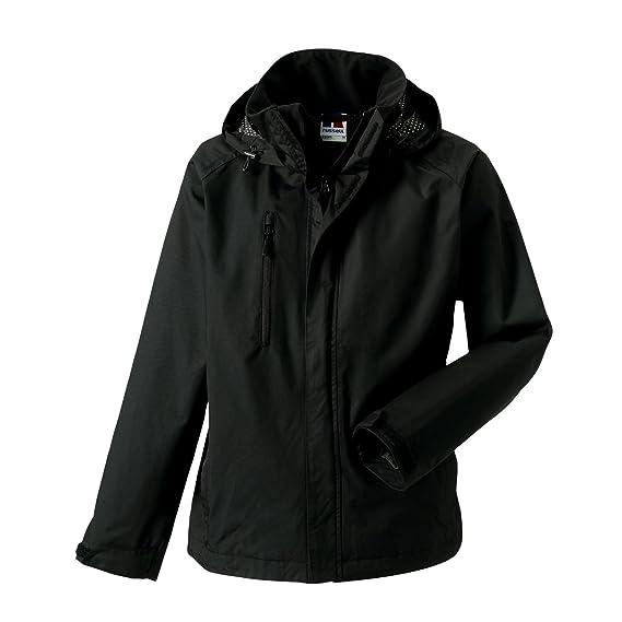 3a1f38483 Jerzees Colours Mens Premium Hydraplus 2000 Water Resistant Jacket (XS)  (Black)