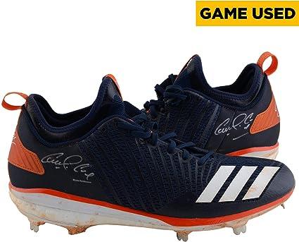 Carlos Correa Houston Astros Autographed Game-Used Adidas Navy ... dcbb2373e