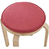 Blancho Creative Round Stool Cushion Warm Sponge Pad Bar Stool Mat Red