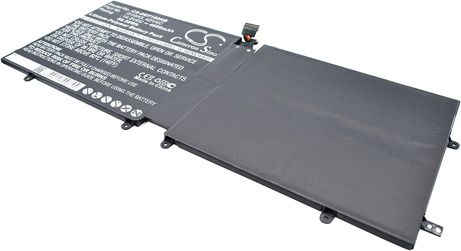 Rechargeable Battery for DELL XPS 18, XPS 18 1810, XPS 18 1820, XPS 18-1810 Replacement for DELL 4DV4C, 63FK6, D10H3